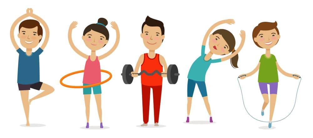 Exercise lowers your blood sugar.
