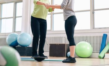 Balance is very important for people with osteoporosis.