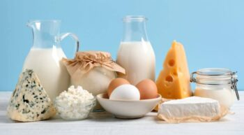 Milk and dairy products are rich sources of calcium.