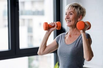 Weight training can increase bone density and reduce the risk of osteoporosis