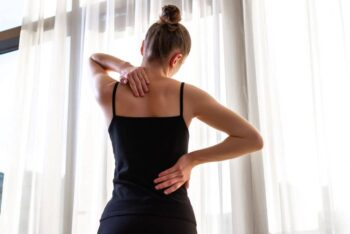 While osteoporosis is most common in older people, it sometimes affects young people,